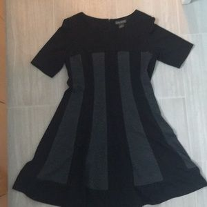 black and gray Jessica Howard dress- size 14p